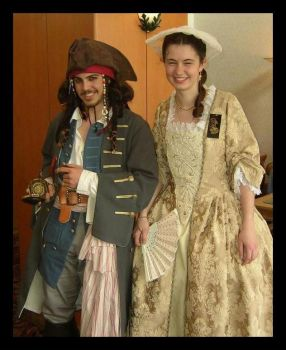 Jack and Elizabeth Costumes by Manveruon