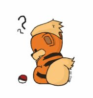 Growlithe by chibitrinity