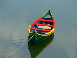 colored boat by pipp8888