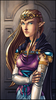 LoZ Series: Zelda by WesTalbott