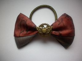 steampunk hair bow 2 by ScorpionsKissx