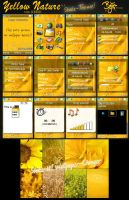 Yellow Nature v1 Shake-Theme by bschulze