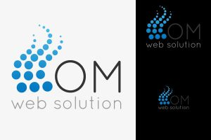 Om Web Solutions Logo by arscube