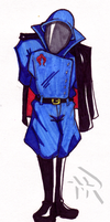 Cobra Commander Sketch by Superbdude1