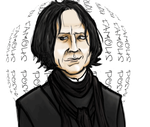 Flirting Severus Snape by BuduFamousPosleDeath