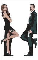 Mr And Mrs Smith by Mik4g