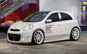 Nissan Micra DIG-S GT 2011 by HAYW1R3