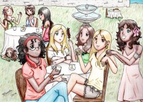All the girls and a wannabe by MahNati