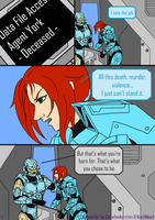 What I chose to be Pg. 1 by KradNibeid