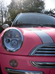 PINK mini cooper by rockchic06
