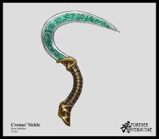 Cronus' Sickle by rytango