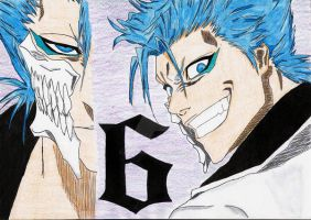 .:Bleach:. Grimmjow 1 by Jeanette-Black