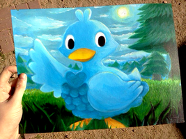 Ducklett Painting