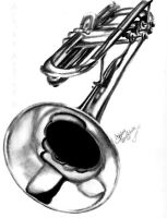 A Trumpet by shley77
