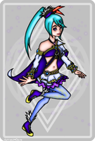 Lana the White Sorceress by OutrealmGate