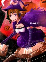 HALLOWEEN WITCH by Sword-Waltz