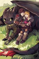 How To Train Your Dragon 2 by c-dra
