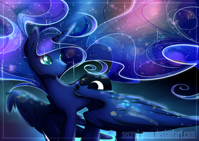 Lunar sky by secret-pony