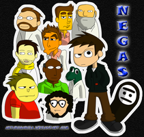 Negas and the Makila's Crew by rainthstrive