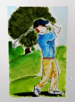 Golfer 1 by whoisangie