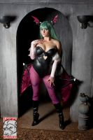 Morrigan by Pokypandas
