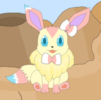 Eevee is ready to evolve! :3 by kovuification