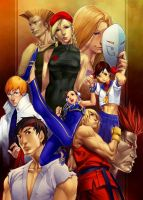 streetfighter collab by janaschi