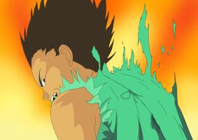 Tetsuo in Flames by UbiquitousEyechosis