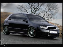 Skoda Fabia RS by pacee