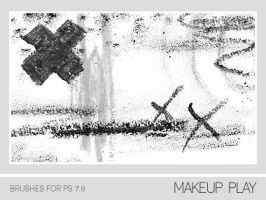 Makeup Play Brushes PS 7.0 by Pfefferminzchen