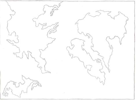 world map wip by valhaia