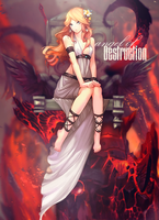 Angel Of Destruction by hamfr1