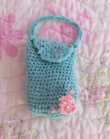 Crochet Bag by lotionthenightshade