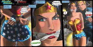 Wonder Woman in: Triple Cross pt1 by erikson1