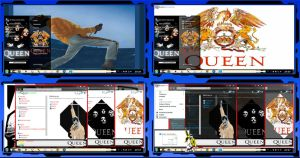 Thema windows7 Queen by bir2d