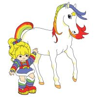 Rainbow Brite and Starlite by Dudy11