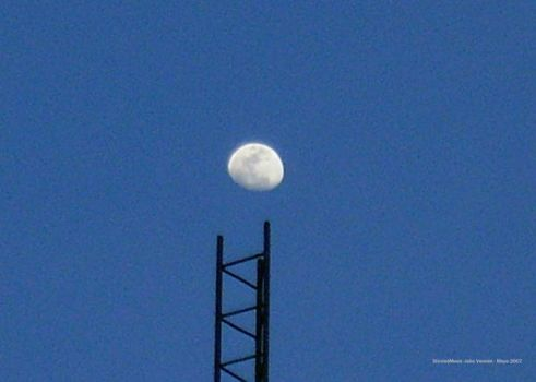 Sticked Moon by ungaman