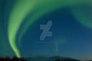 Northern Lights, Denali N.P. 3 by iamintheprocess