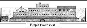 Garna's Keep. Front view by Fred73fr