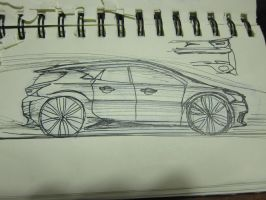 another hatchback concept by v3110z