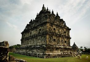 Candi Plaosan by indonesia
