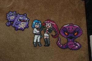 Full Rocket Team by evilpika