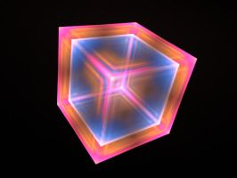Tiled Cube with Pre Blur by mps21877