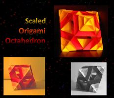 Scaled octahedron by 3Dasha