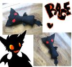 mr.rage plushie o.o by seizureberry