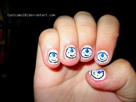 Aang Nails by Coolcamz18