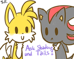 Visit our tumblr page: Ask Shadow and Tails. by GrowingLight
