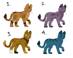Adoptables by Dr-Quollchops