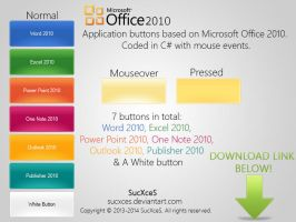 Office 2010 C# Buttons by SucXceS