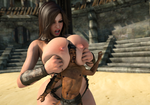 Goddesses of the Arena 3 preview - Boobs! by RedFireD0g